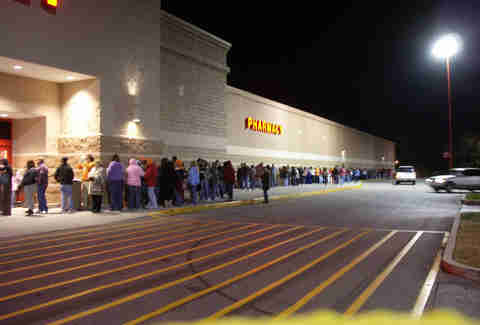 Black Friday Line