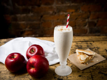 Hard Apple Cider Milkshake