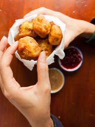 Thanksgiving Fritters — Thrillist Recipes