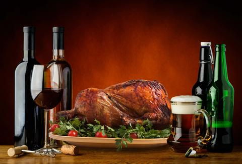 Beer and Wine Pairing Thanksgiving