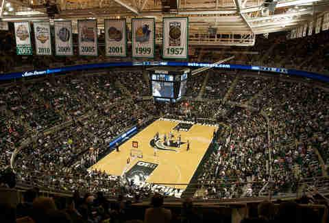 Best College Basketball Arenas Allen Fieldhouse The