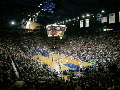 Allen Fieldhouse Kansas