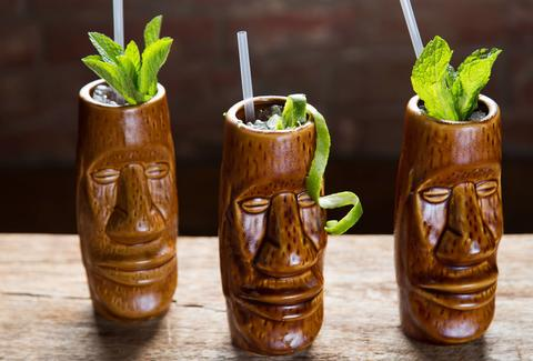 Tiki Tolteca at Felipe's in New Orleans