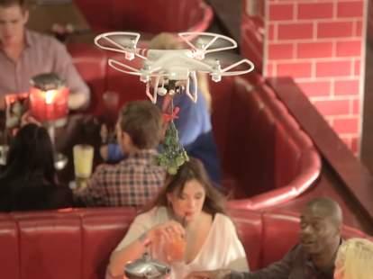 Mistletoe drones