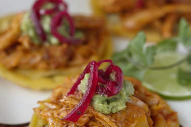 Chicken Panuchos