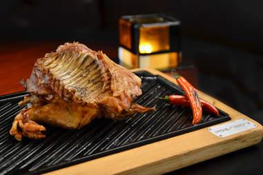 Pollo rostizado picante