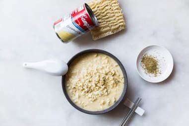 Cream of chicken ramen — Thrillist Recipes