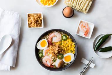 Shrimp and corn ramen — Thrillist Recipes