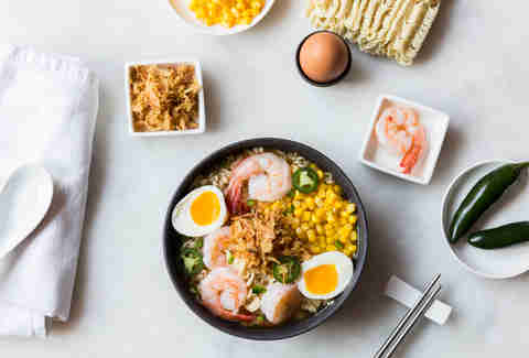 Shrimp and corn ramen — Thrillist Recipes