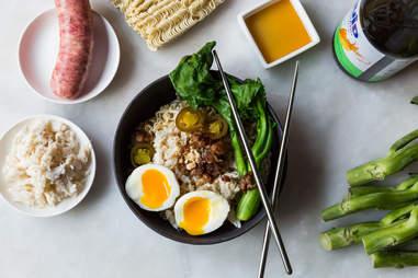 Pork and crab ramen — Thrillist Recipes