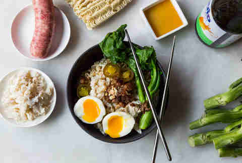 Pork and crab ramen — Thrillist Recipes