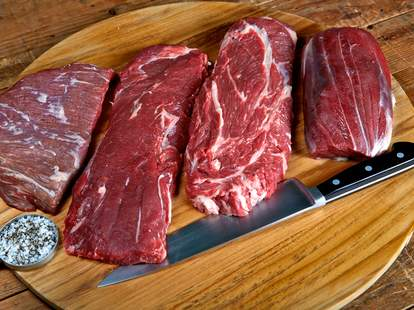 merlot, flap, chuck, tri-tip steak.