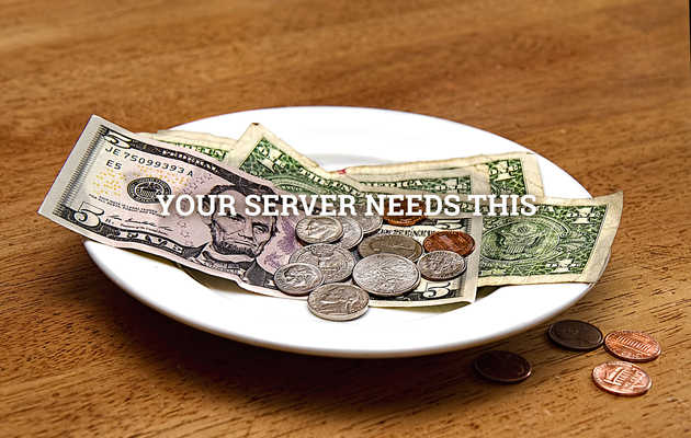Why you should NEVER stop tipping your server, from The Bitchy Waiter