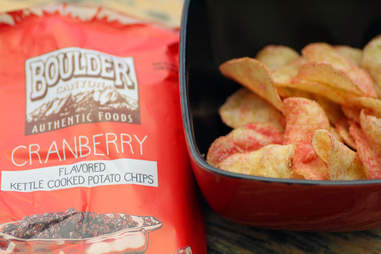 cranberry thanksgiving chips