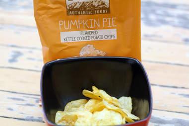 pumpkin pie thanksgiving chips