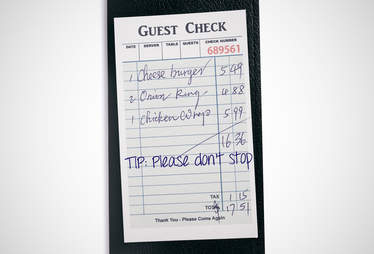 don't stop tipping