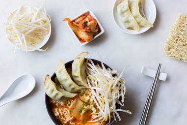 Kimchi ramen — Thrillist Recipes