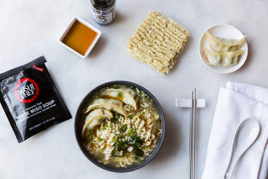 Miso gyoza ramen — Thrillist Recipes