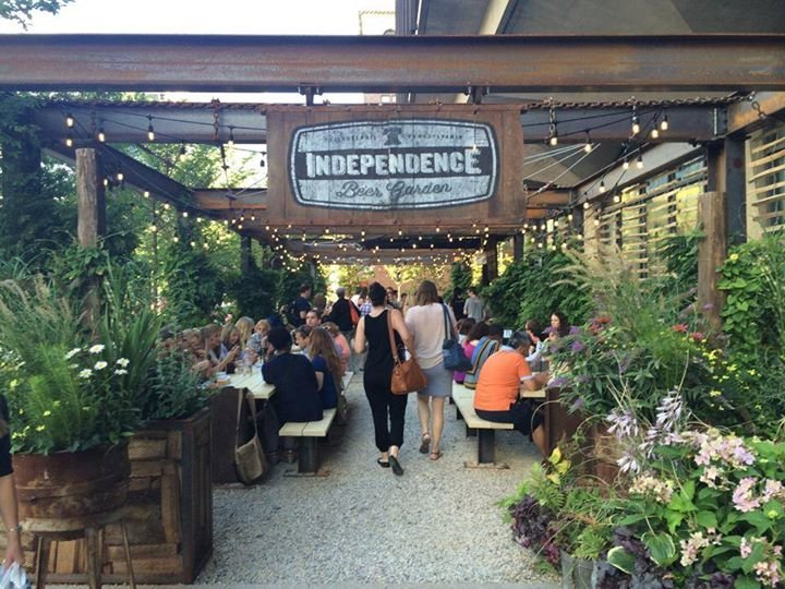 Independence Beer Garden A Philadelphia Pa Bar