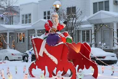 Smedley Street Christmas Philadelphia