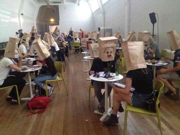 paper bag speed dating ny