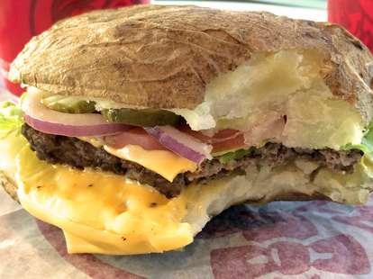 wendy's burger baked potato buns