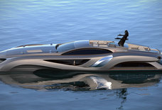 This superyacht is a floating Batmobile