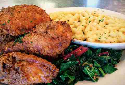 Buttermilk Fried Chicken Plate