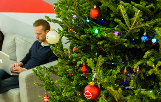 Score a Christmas tree without leaving your apartment this year