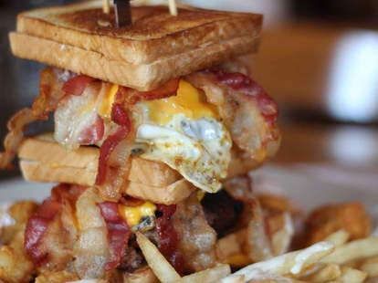 triple bypass burger