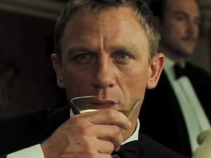 James Bond martini Casino Royale