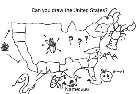 Can You Draw All 50 US States? - Thrillist