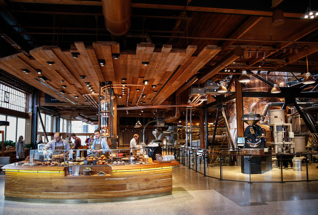 Starbucks Coffee Starbucks Reserve Roastery And Tasting Room