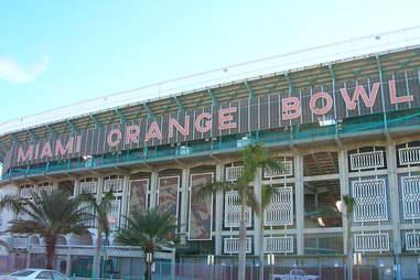 Orange Bowl Miami