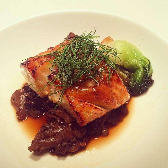 Miso glazed cod at Steak 954 Ft. Lauderdale
