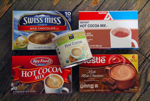hot chocolate mixes