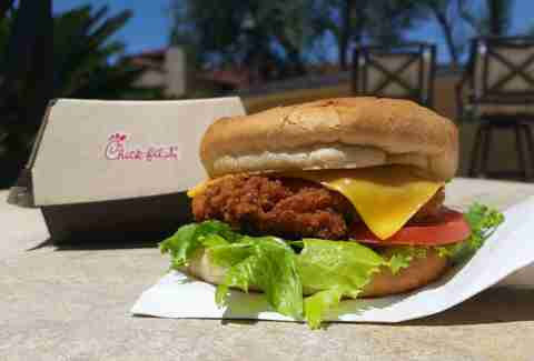 You can now order Chick-fil-A in advance, on your phone