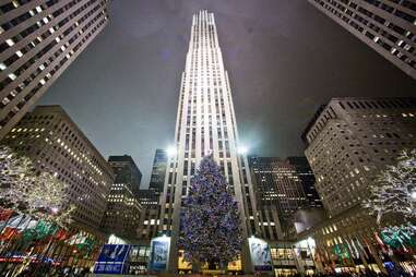 History of the Rockefeller Christmas Tree NYC