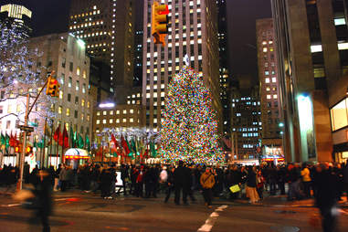 History of the Rockefeller Christmas Tree NYC