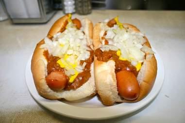 detroit coney island hot dog