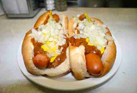 detroit coney island hot dog