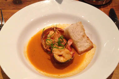Marc Forgione chili lobster