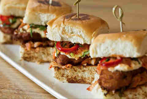 oyster po boy sliders
