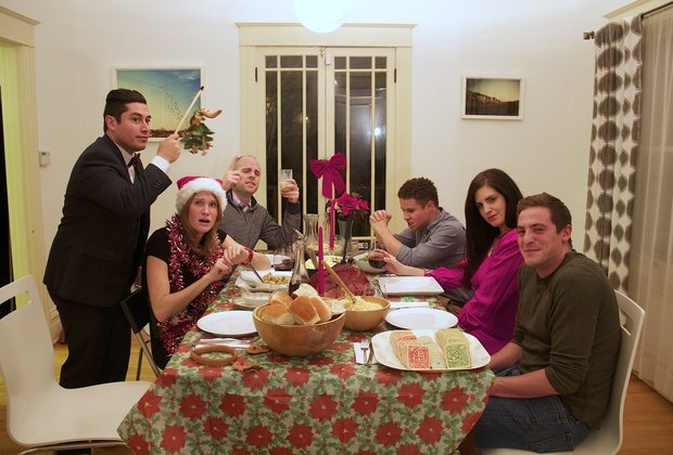 12 people you see at your holiday dinner party