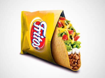 Fritos Taco Bell taco