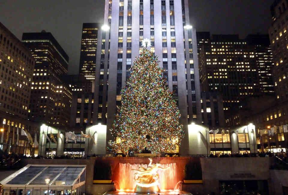 Weihnachtsbaum Rockefeller Center.History Of The Rockefeller Center Christmas Tree In Nyc Explained