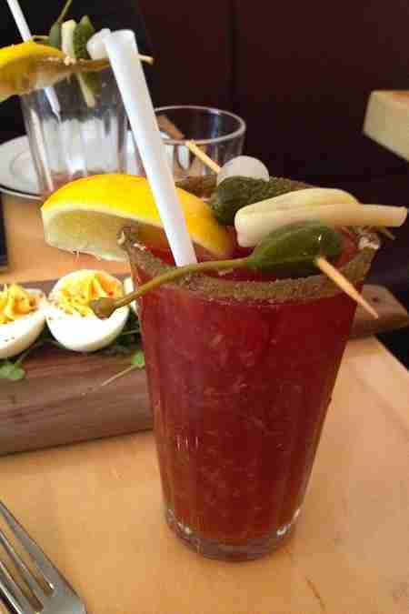 the gabardine bloody caesar