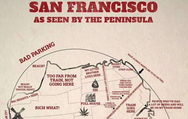 SF, according to the peninsula