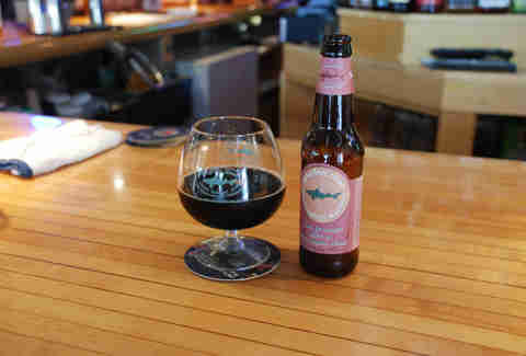 dogfish head palo santa marron