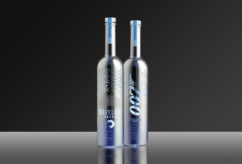 Belvedere Bond vodka
